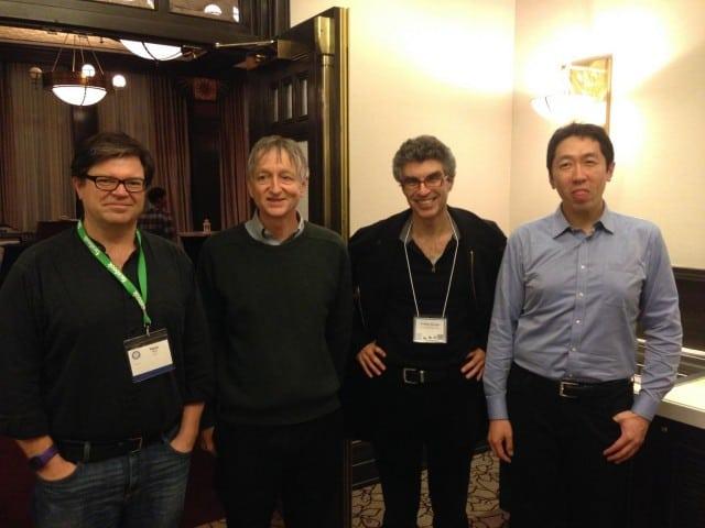 Key people in deep learning